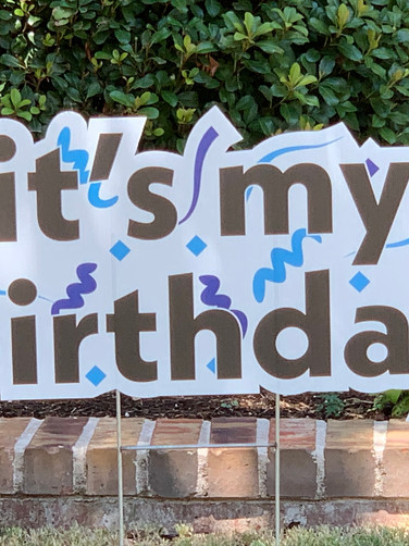Its My Birthday - Blue