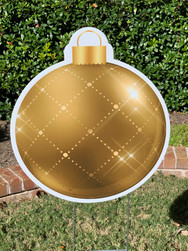GOLD TWINKLE ORNAMENT