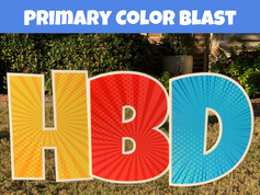 Primary Color Blast