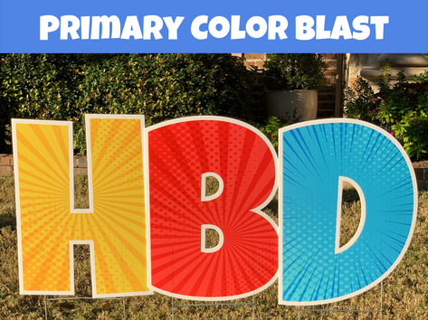 Primary Color Blast