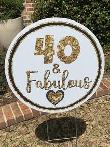 40 & FABULOUS!
