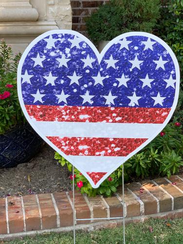 LG FLAG HEART