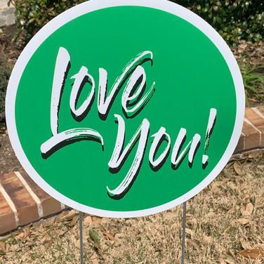 Love you - Green