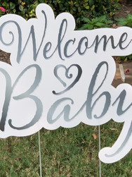 WELCOME BABY (NEUTRAL SILVER)