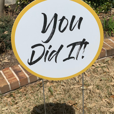 You Did It! - Gold