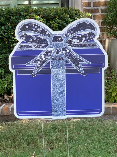 Blue Sparkle Present