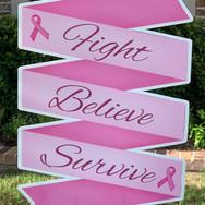 FIGHT BELIEVE SURVIVE