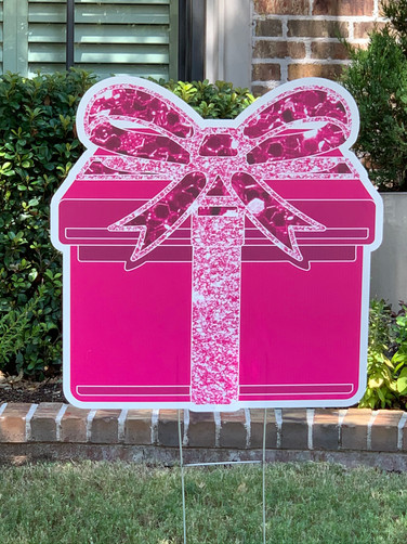 Pink Sparkle Present