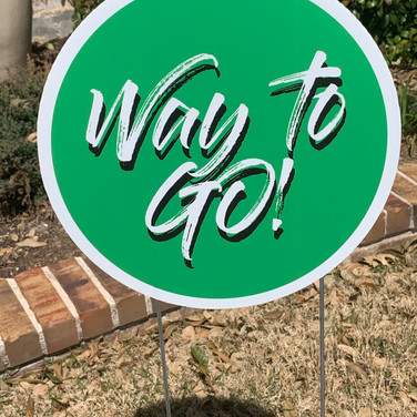 Way to Go! - Green