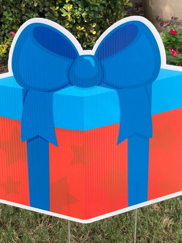 ORANGE BLUE GIFT BOX