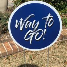 Way to Go! - Blue