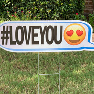 #LOVE YOU EMOJI FACE