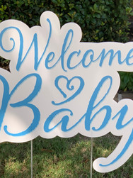 WELCOME BABY (BOY)