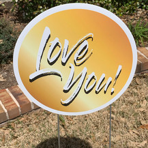 Love you - Gold