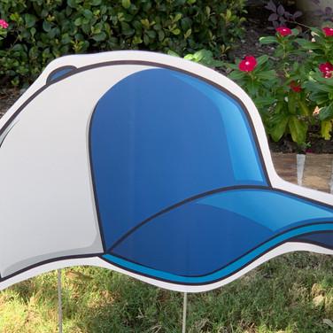 BLUE SILVER BALLCAP