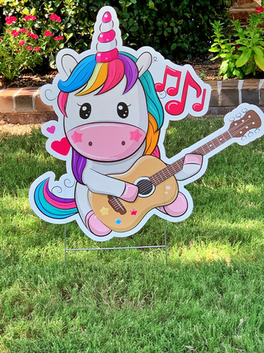 UNICORN WITH GUITAR