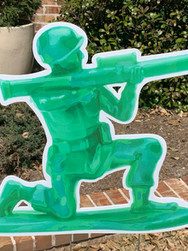 Toy Soldier With Bazooka