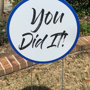 You Did It! - Blue
