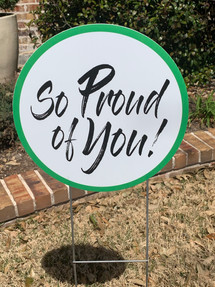 GREEN SO PROUD OF YOU