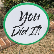 You Did It! - Green