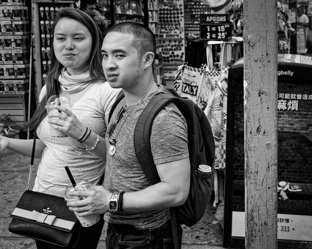 Chinatown Street Portrait