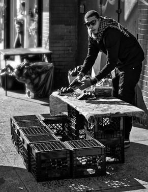Bway Street Vendor