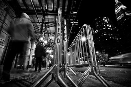 26th Street Barricades