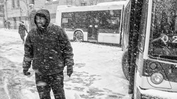 Jack Knifed Bus