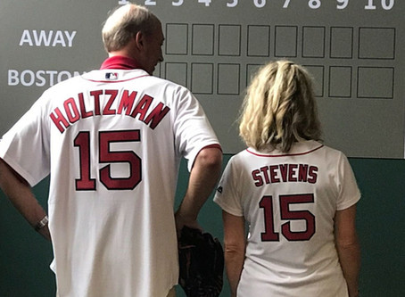 Cure Alzheimer's Fund honored at Boston Red Sox Game