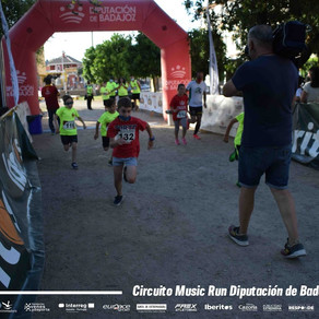 Almendralejo, segunda parada del Circuito Music Run 2021