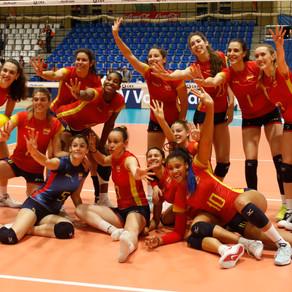 ¡¡La Selección Femenina de Voleibol, a la Final Four de la Liga Europea!!