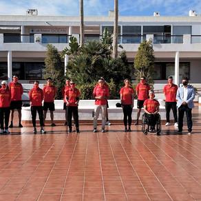 La Selección Española de Paratriatlón inicia su camino a Tokyo en Mar de Pulpí