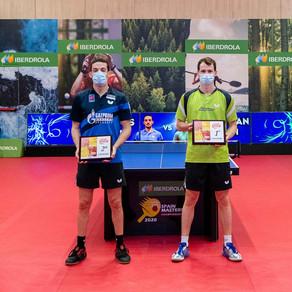 El mejor tenis de mesa, de nuevo en Riu Plaza España y con Iberdrola