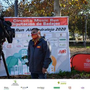 Cerramos el Circuito Music Run 2020 en Don Benito y Almendralejo