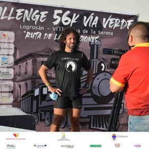 Challenge 56 Vía Verde, la carrera más especial del Music Run