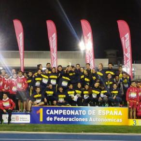 Campeonato de España de Federaciones Autonómicas de Atletismo en Pamplona