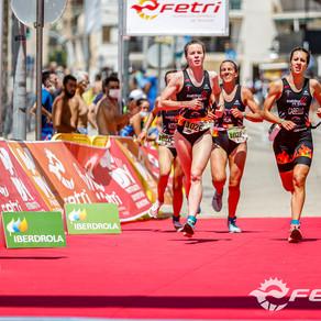 Arranca la temporada de triatlón en Águilas con el Supersprint