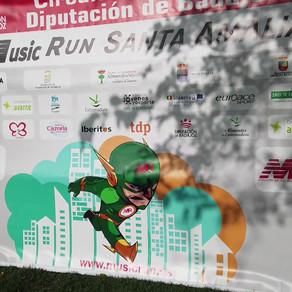 Doble fiesta con el Circuito Music Run: Villanueva de la Serena y Santa Amalia