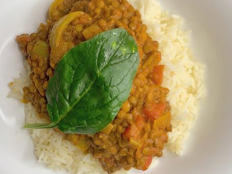 Ginger Lentil Dahl Curry!