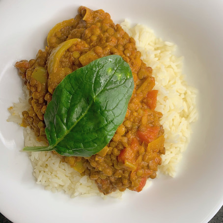 Ginger Lentil Dahl Curry!