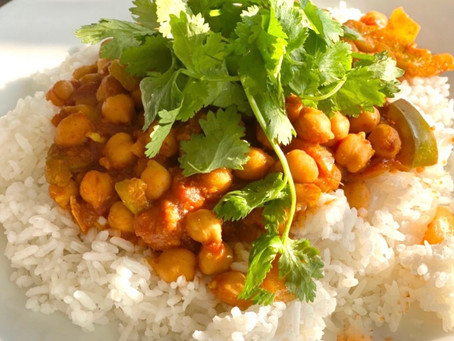Vegan Butter Chickpea Curry!