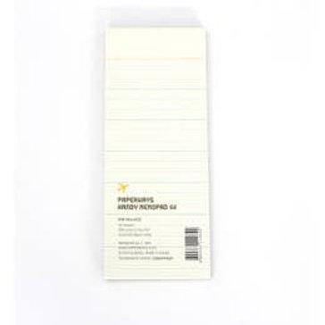 Handy Memopad - 02 Ruled