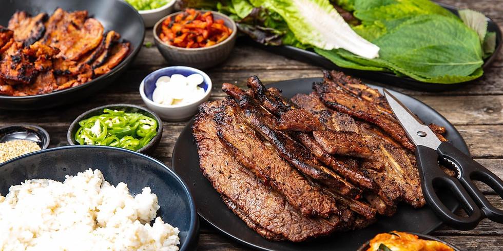 New Year's Eve Korean BBQ Dinner