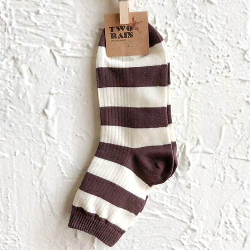 Wide Stripe Socks