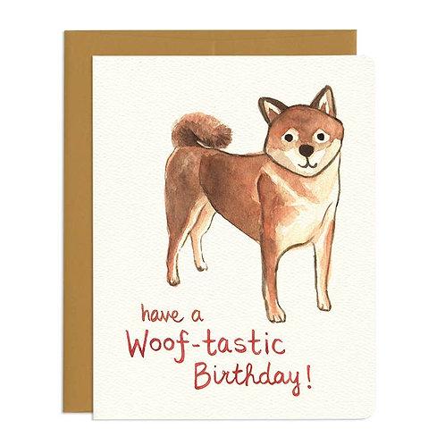 Woof-tastic Birthday