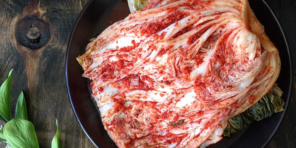 Kimchi Workshop (3/21)