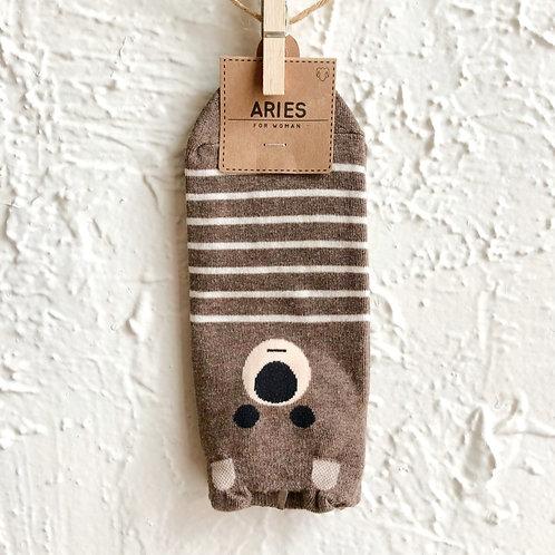Bear Striped Socks