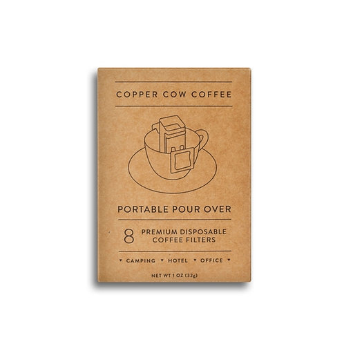 Copper Cow Portable Pourover Filter