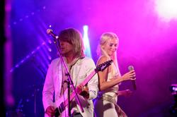 Agnetha and Bjorn ABBA Chique