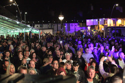 ABBA Chique audience Copperfest
